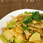 stir fried potatoes and peppers recipe
