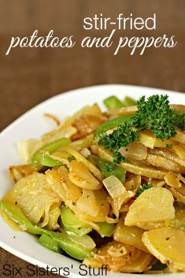 Stir-Fried Potatoes and Peppers Recipe