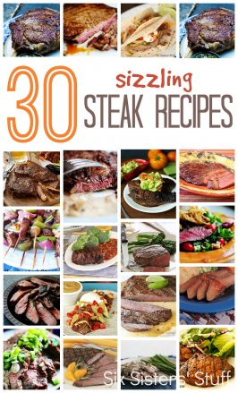 30 Sizzling Steak Recipes