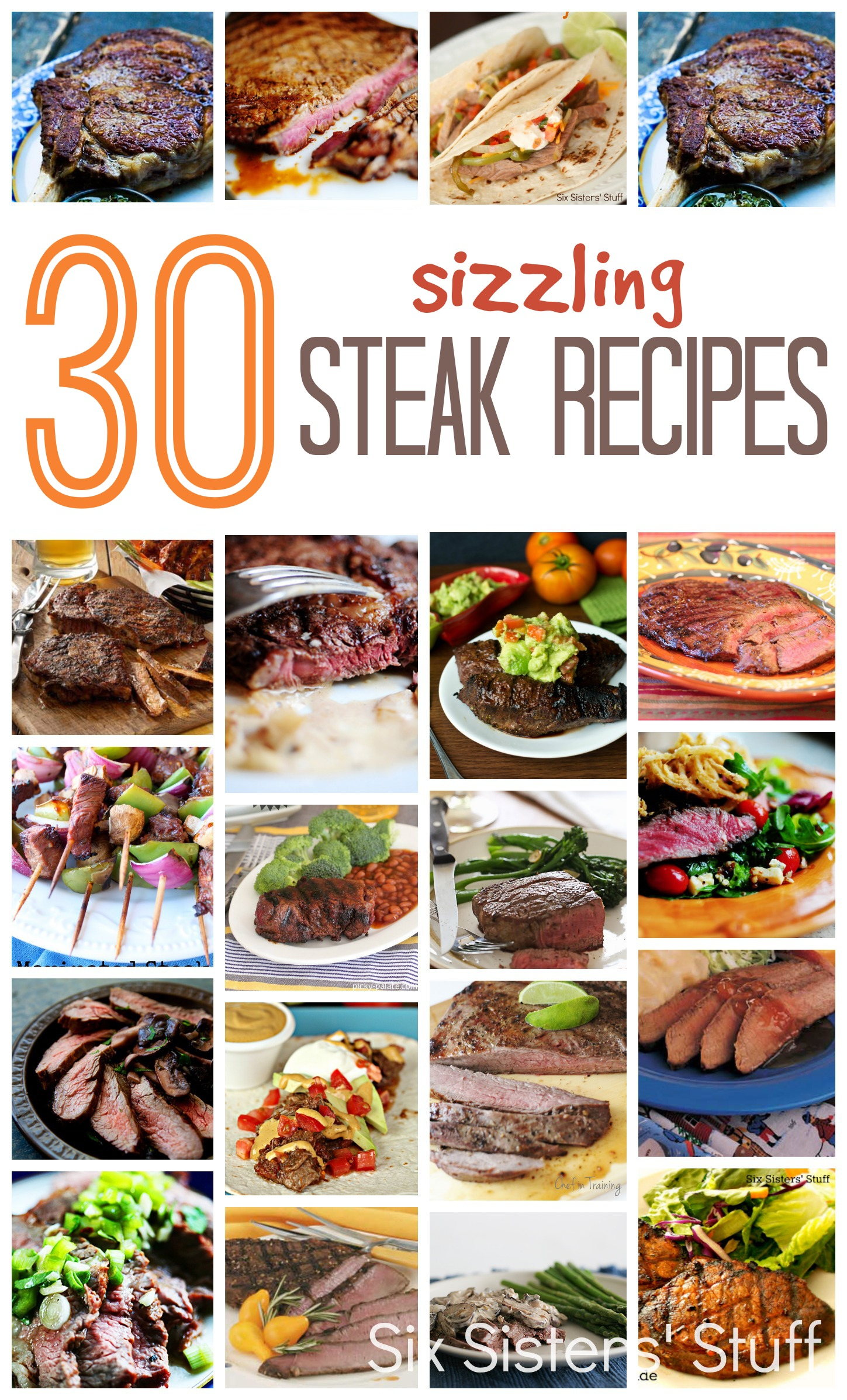 30 Sizzling Steak Recipes