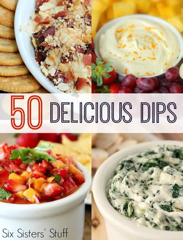 50 Delicious Dips