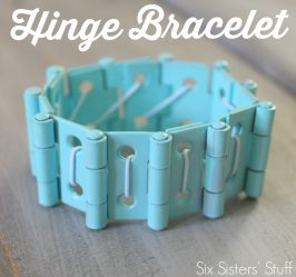 Easy Hinge Bracelet Tutorial