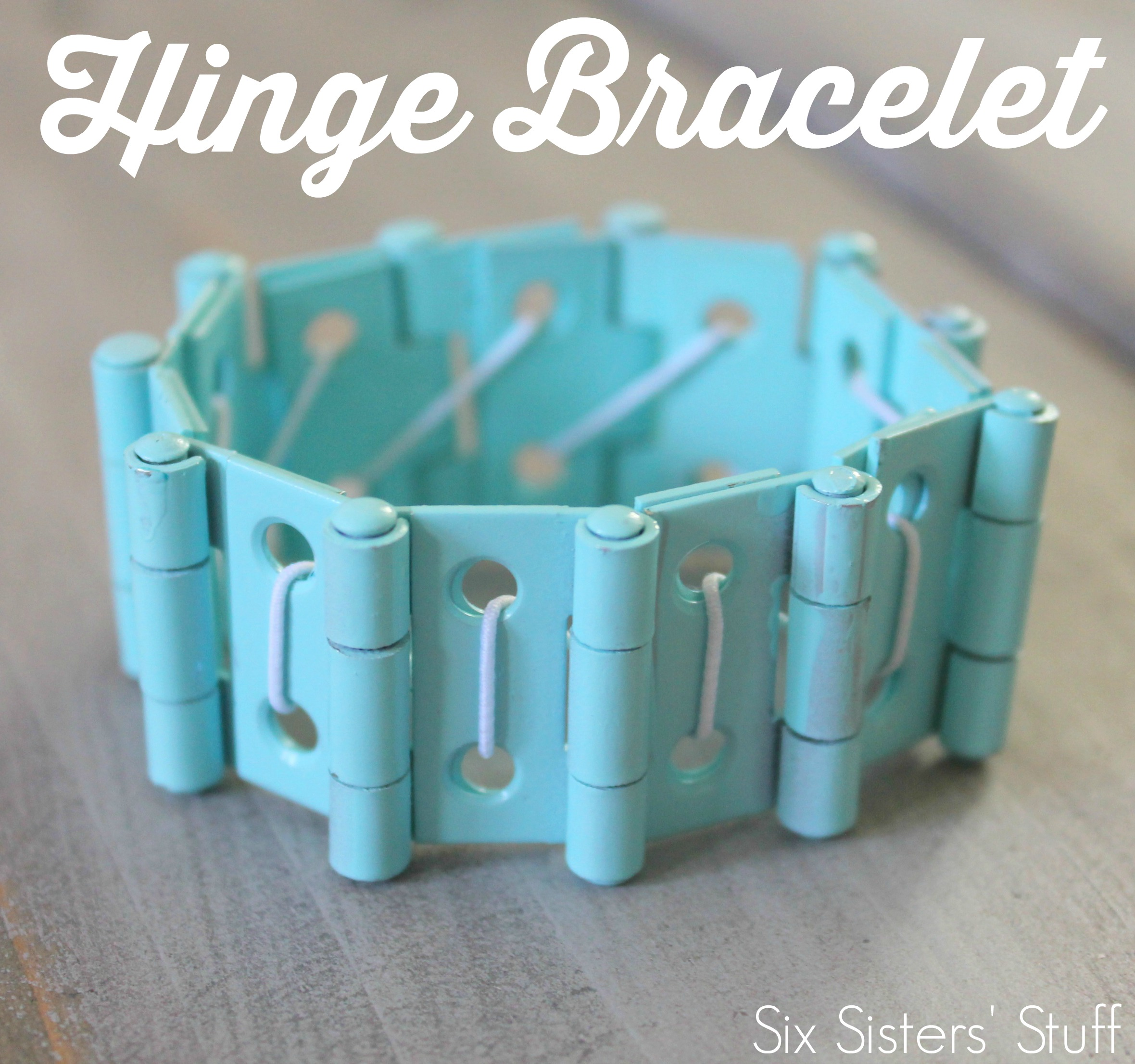 Easy Hinge Bracelet Tutorial
