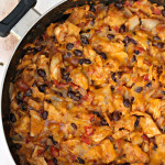 Chicken Enchilada Skillet Recipe Six Sisters Stuff