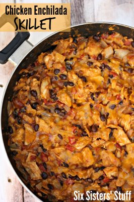 Chicken and Black Bean Enchilada Skillet Recipe