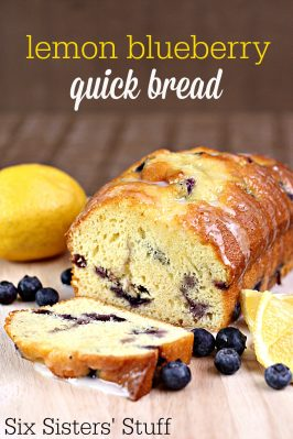 Lemon Blueberry Quick Bread Recipe