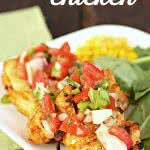 grilled taco chicken recipe sixsistersstuff