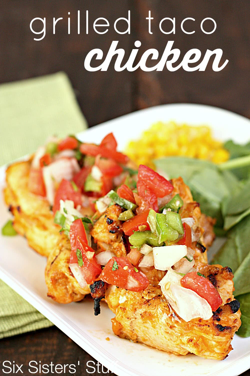 Grilled Taco Chicken Recipe