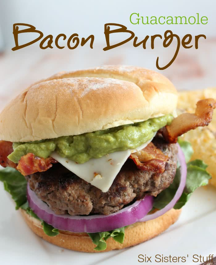 Guacamole Bacon Burger Recipe