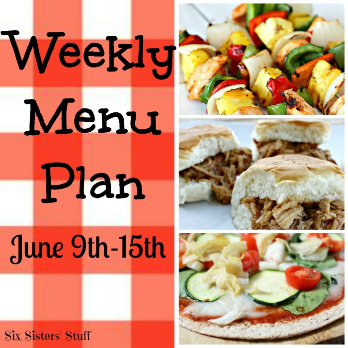 menu plan june 9-15 final