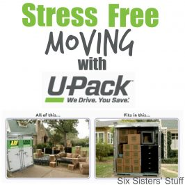 Stress Free Moving With U-Pack