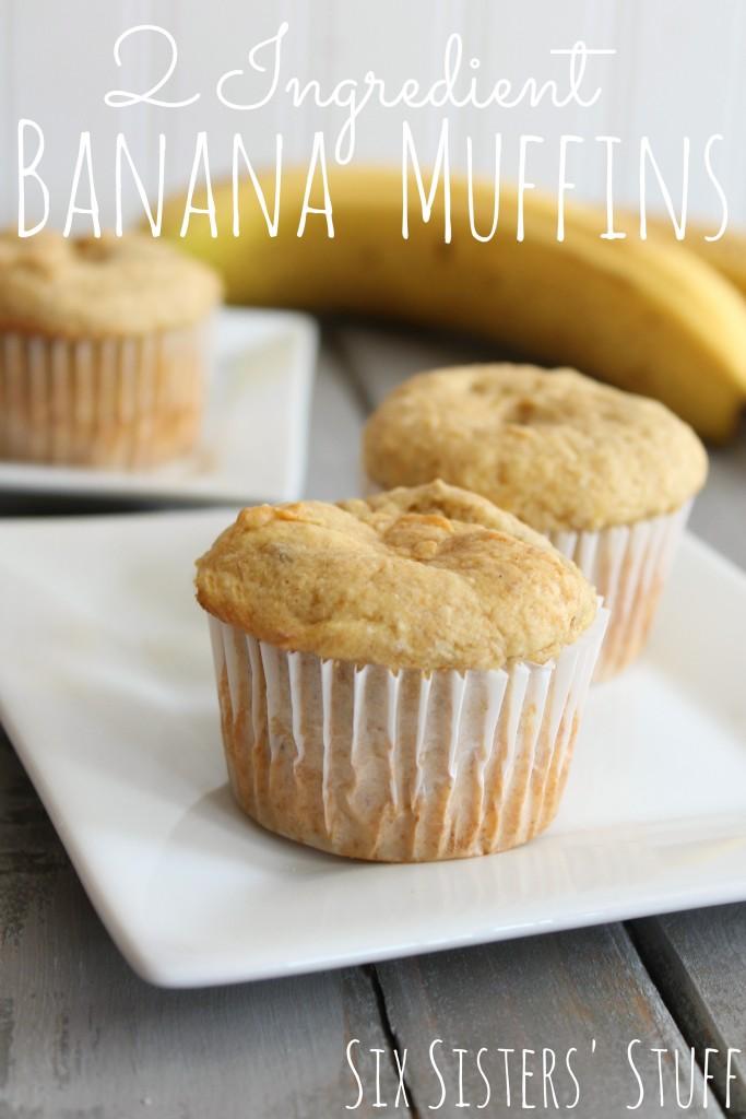 Banana Muffins With Yellow Cake Mix