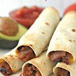 Baked Taco Taquitos Recipe Six Sisters Stuff
