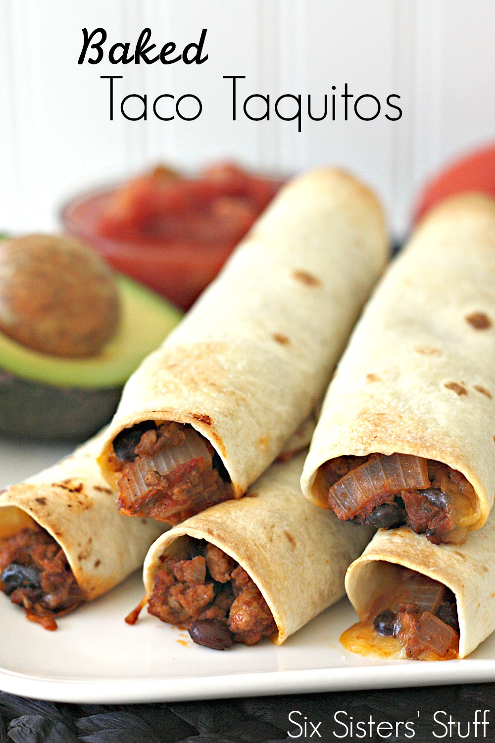 Baked Taco Taquitos Recipe