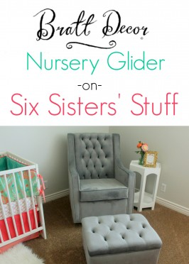 Bratt Decor Nursery Glider Review