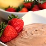 Chocolate-fruit-dip