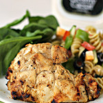 Grilled Caesar Chicken Recipe SixSistersStuff