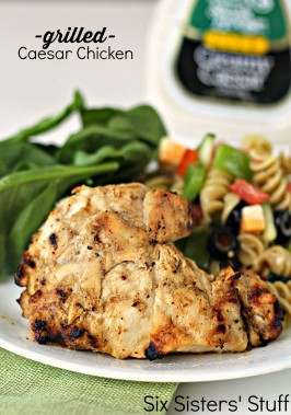 Grilled Caesar Chicken Recipe