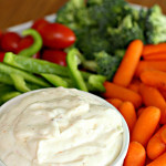 Italian Vegetable Dip Recipe Six Sisters Stuff