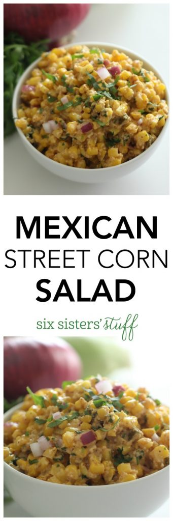 Mexican Street Corn Salad from SixSistersStuff