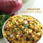 Mexican Street Corn Salad on SixSistersStuff