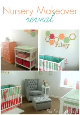 Nursery Makeover Reveal