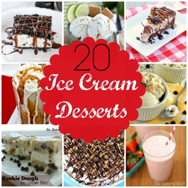 20 Ice Cream Desserts