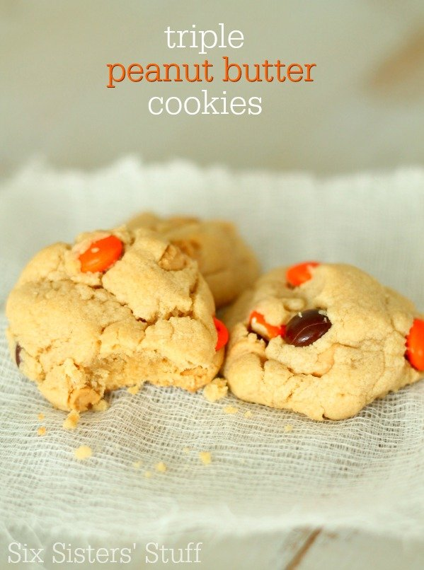 Triple-Peanut-Butter-Cookies-Recipe