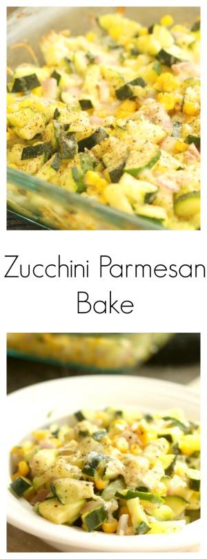 Zucchini Parmesan Bake pin