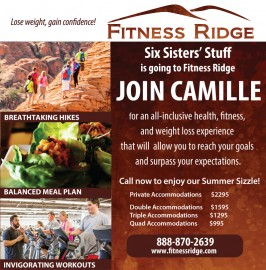 Introducing Fitness Ridge (formerly Biggest Loser Resort) and your chance to come!