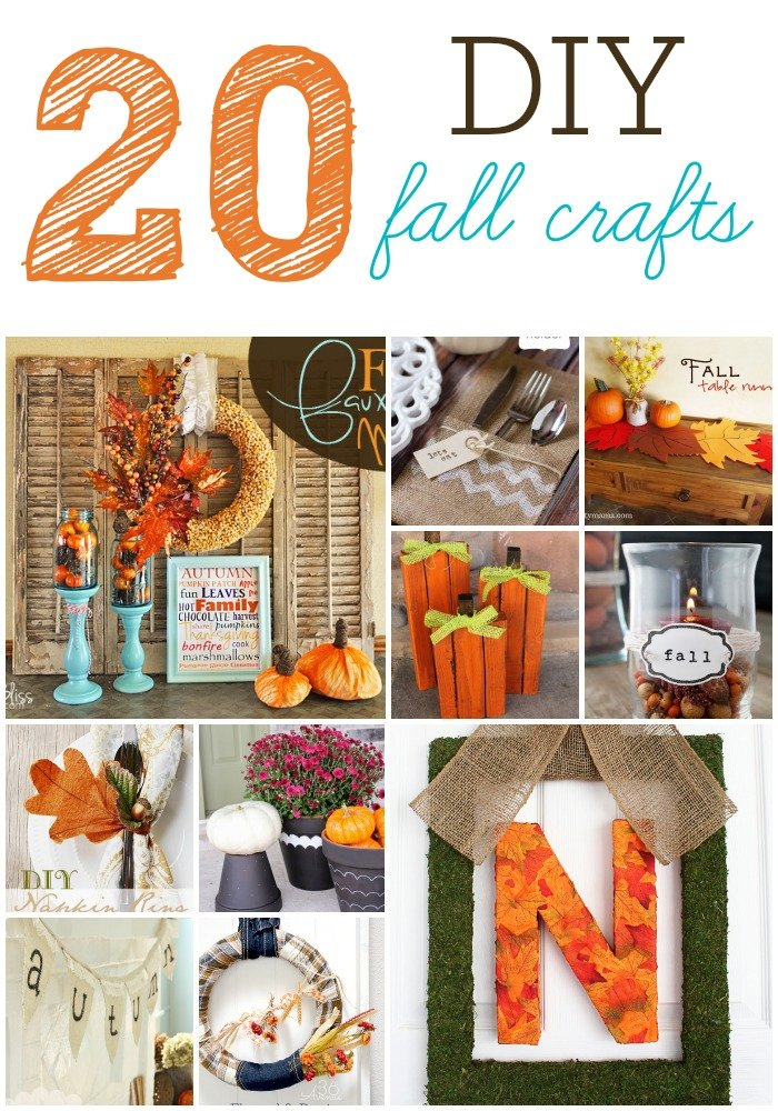 20 diy fall craft projects six sisters 39 stuff for Easy diy fall crafts