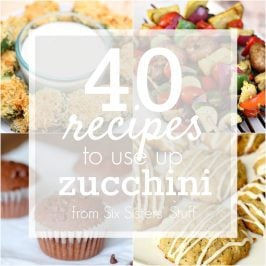 40 Recipes to Use Up Zucchini