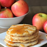 Cinnamon Apple Pancakes Recipe SixSistersStuff