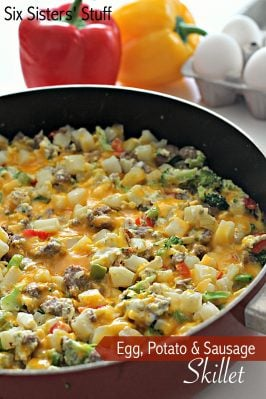Egg, Potato, and Sausage Skillet Recipe