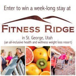 Fitness Ridge Resort Review and GIVEAWAY (Win a week there for yourself!)