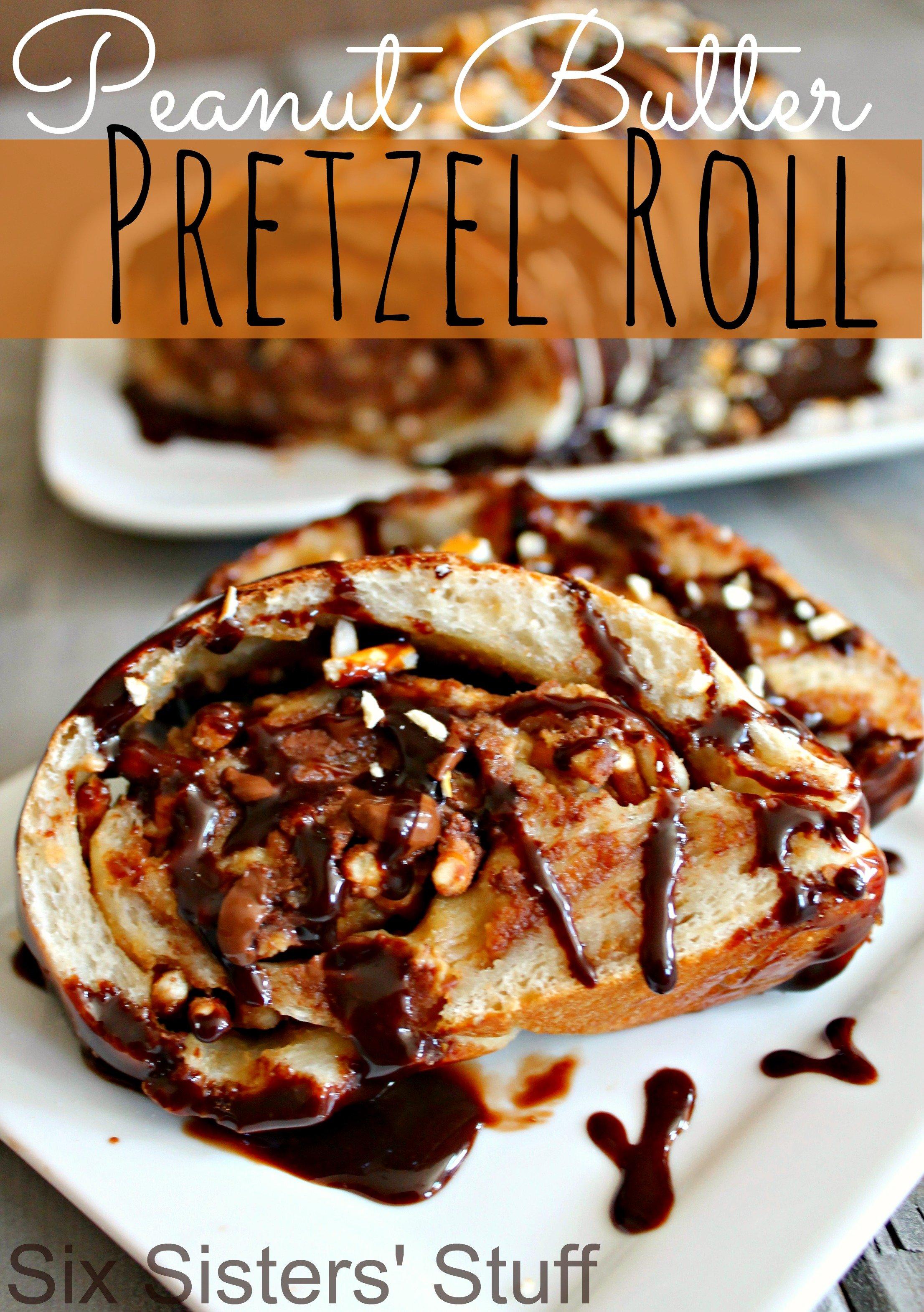 Peanut Butter Pretzel Roll