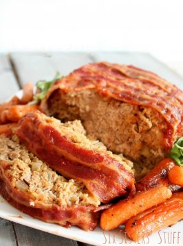 meatloaf recipe that wraps the meatloaf in bacon