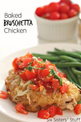 Baked Bruschetta Chicken Recipe