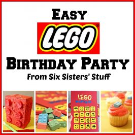 Easy Lego Birthday Party