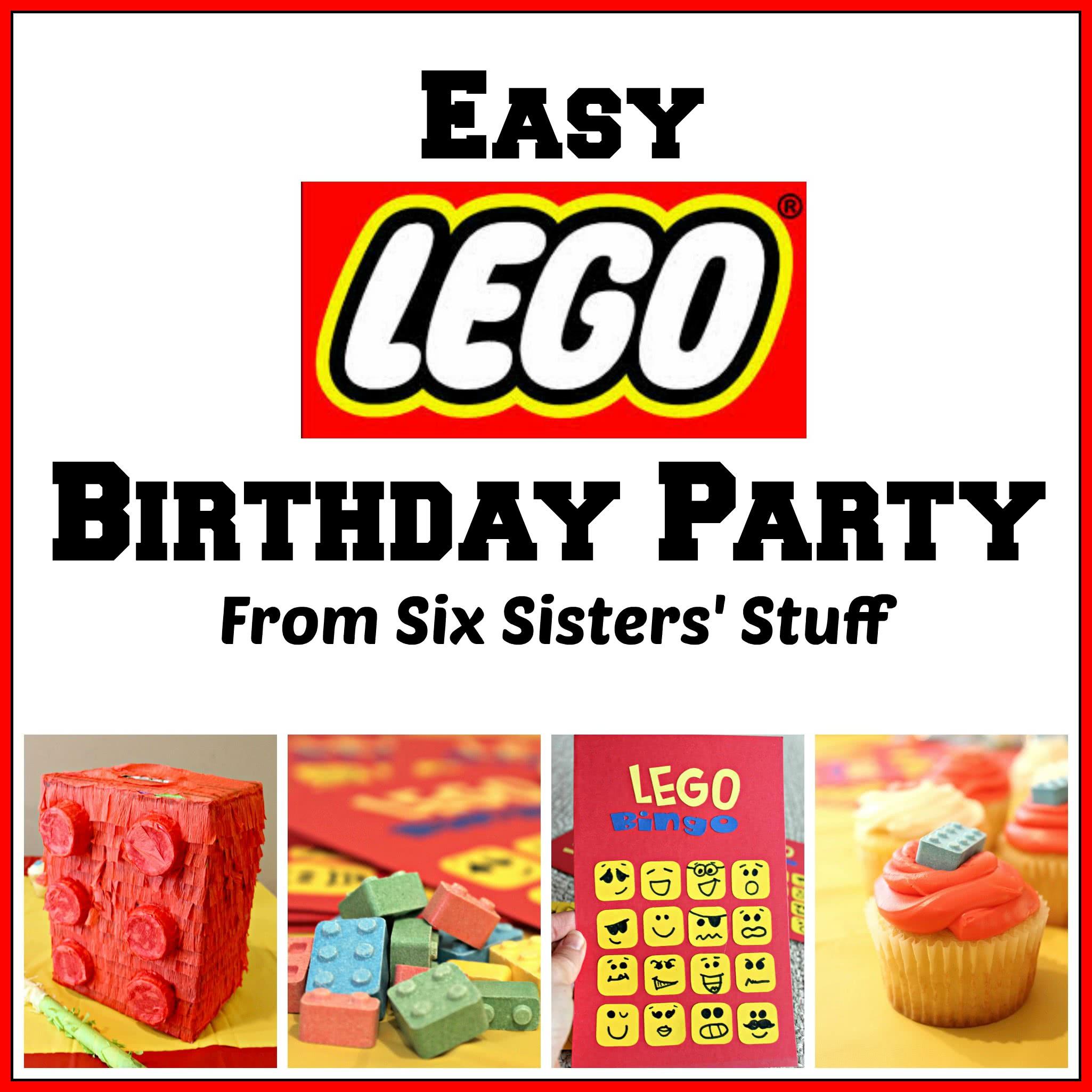 Easy Lego Birthday Party