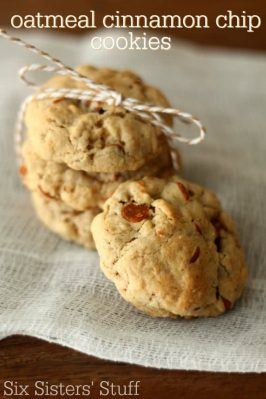 Oatmeal Cinnamon Chip Cookies Recipe