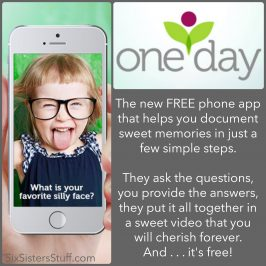 OneDay App- the BEST free app for parents! (Video Memories Made Easy)