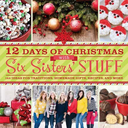 Introducing our 12 Days of Christmas with Six Sisters' Stuff Christmas Cookbook!