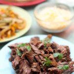 Slow Cooker Steak Flank Fajitas