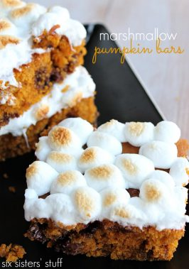 Marshmallow Pumpkin Bars with Bath & Body Works