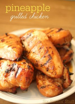 Pineapple Grilled Chicken Recipe