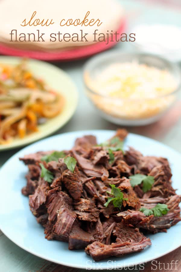 slow-cooker-flank-steak-fajitas