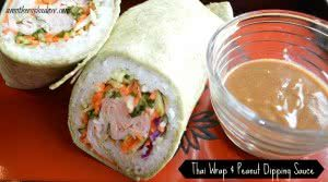 thai-wrap-and-peanut-dipping-sauce