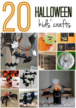 20 Halloween Kids' Craft Ideas