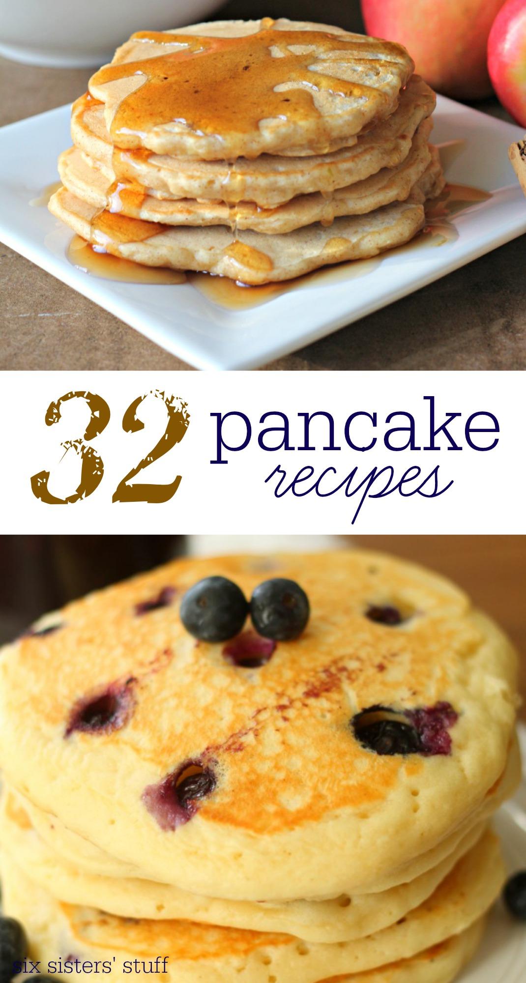 32 Pancake Recipes